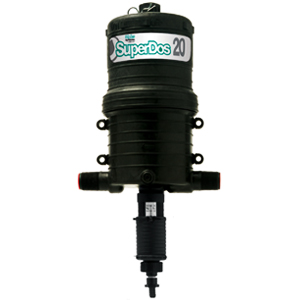SuperDos 20 dosing pump for fertilizer injection and industrial applications