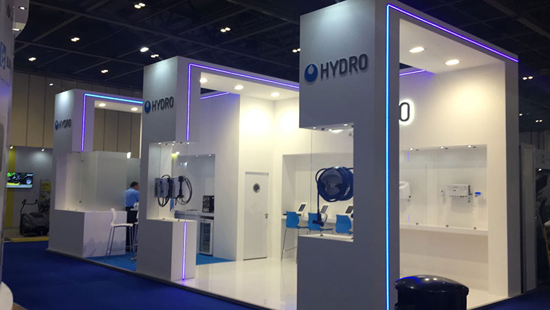 Hydro's stand at The Cleaning Show 2017